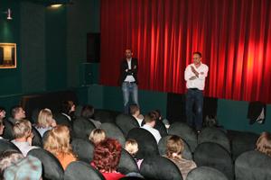 Regisseur Christoph Schaub, Moderation Derek Cofie-Nunoo (generationhd)