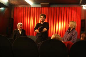 Diskussion zwischen Publikum und Filmgästen, moderiert von Gabriele Ensink (IfG)