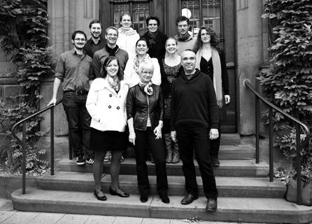 Graduiertenkolleg Demenz Gruppenfoto 2012